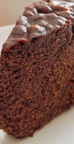 Chocolate Sponge Cake   KitchMe