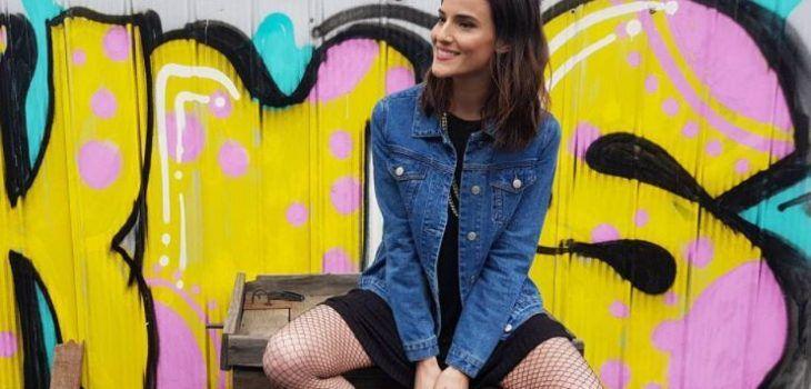 Modelo chilena Renata Ruiz se luce con transparencia en Semana de la Moda en Nueva York - BioBioChile
