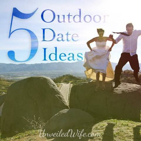 5 Outdoor Dates for Summer --- It's warm and it's a great time of year to enjoy God's beautiful creation with your husband. My husband and I love summertime, because it makes for fun, adventurous (and inexpensive!) dates. Here are five outdoor dates for […]… Read More Here http://unveiledwife.com/5-outdoor-dates-for-summer/ #marriage #love