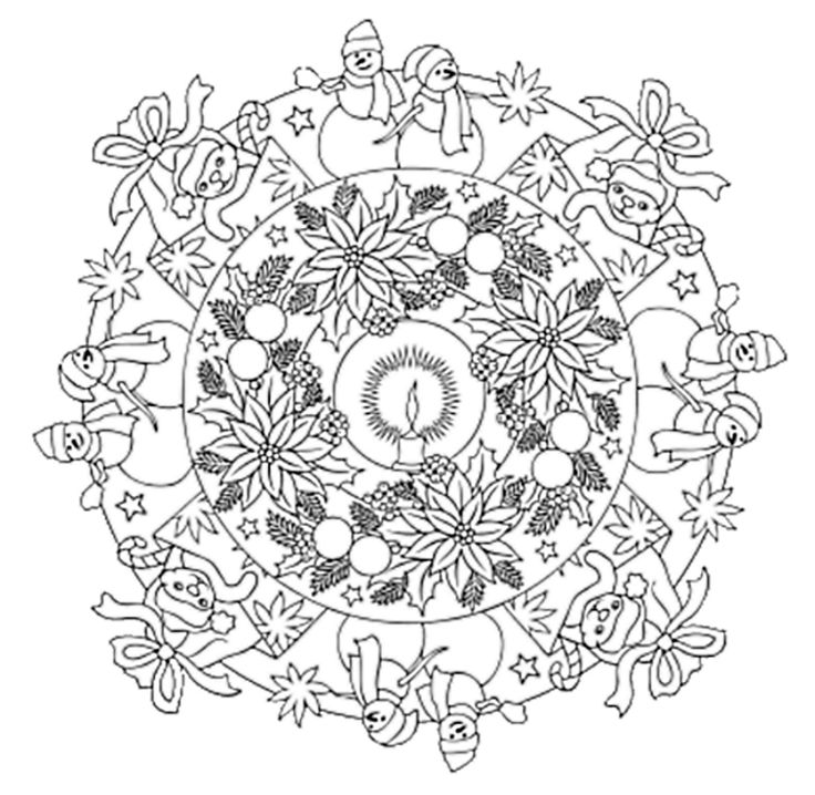 17 Best images about Christmas Coloring on Pinterest ...