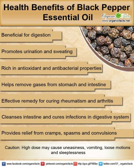Young Living Essential Oils: Black Pepper ~ digestion, antioxidant, antibacterial, relieves gas, remedy for rheumatism & arthritis, cleanses intestines