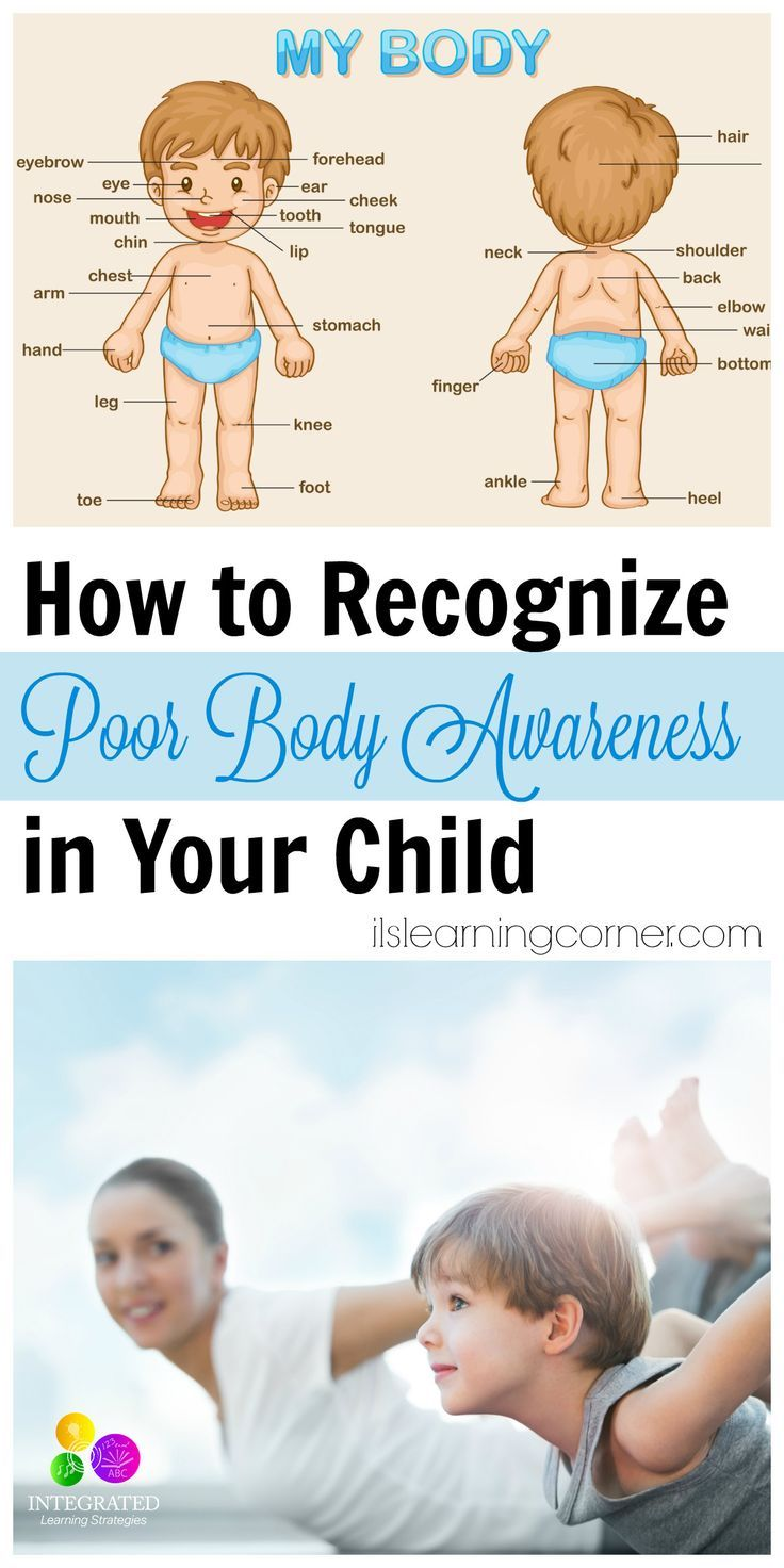 Body Awareness: Characteristics of Impaired or Poor Proprioception in Your Child | ilslearningcorner...