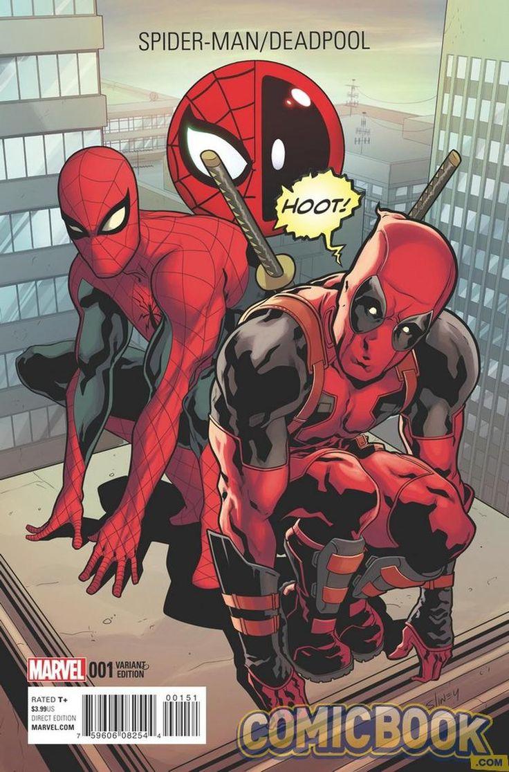 Deadpool e Homem-Aranha - Marvel libera prévia da nova revista! - Legião dos Heróis