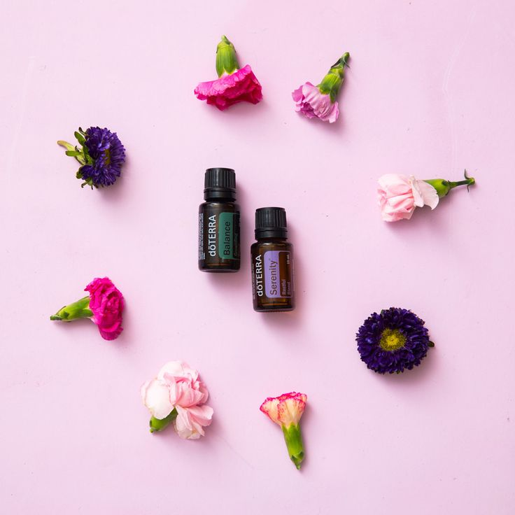 The Earth provides you with everything you need to find your center, like essential oils for balance.