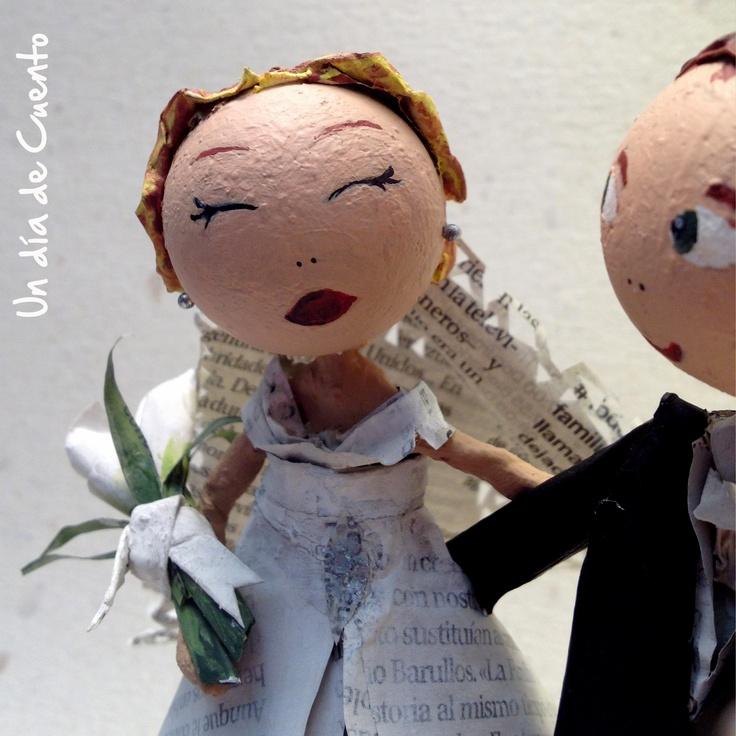 Muñecos de boda para un día de cuento
