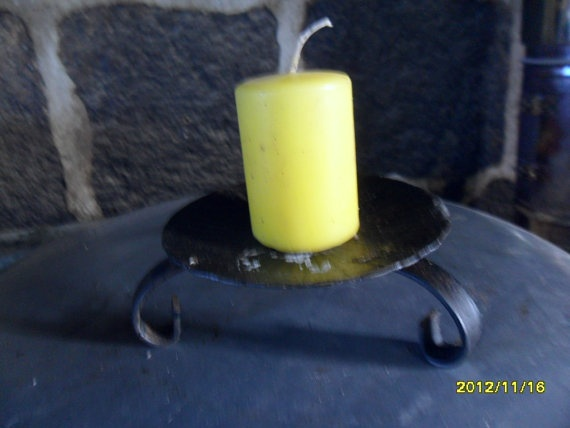 Found in France   Candle Stick by JanniesJunkandJems on Etsy, €10.00