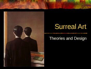 This 36 slide PowerPoint covers the Surreal Art Movement. A brief history and the themes of the movement are addressed. The artists Salvador Dali, Max Ernst, and Ren Magritte are covered. A short quiz at the end of the presentation with reflective questions throughout help assess student understanding of concepts covered.