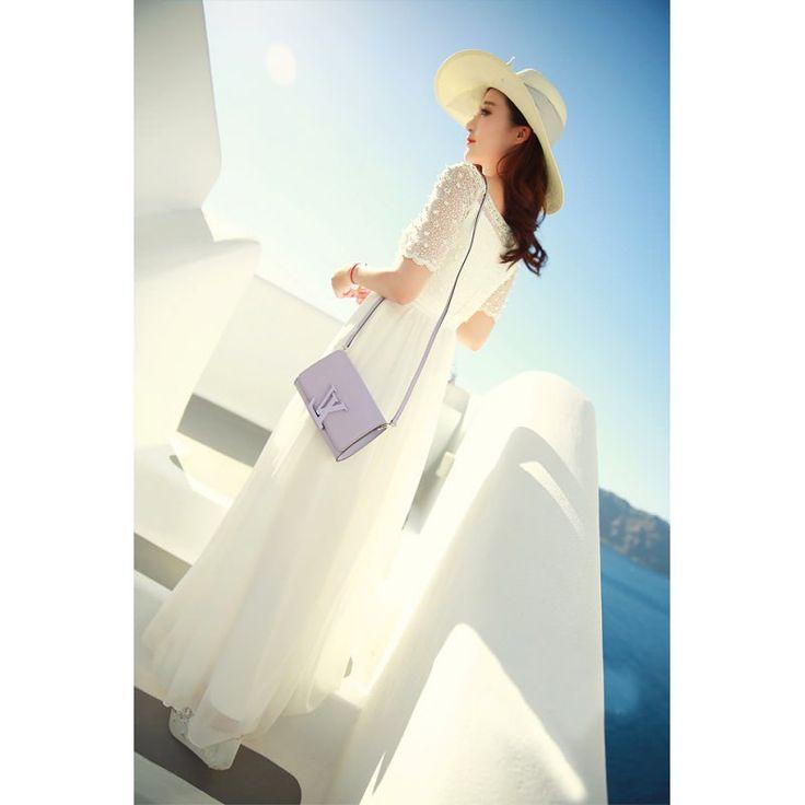 beyaz dantelli #japon #style #elbise