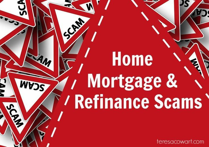 With interest rates being as low as they are, applying for a mortgage or refinancing are attractive options for many. Unfortunately, there many scams geared towards homeowners and their financing issues. Here are some of the most common refinancing and mortgage related scams to watch for. http://teresacowart.com/home-mortgage-refinance-scams-watch #homeimprovementmortgage,