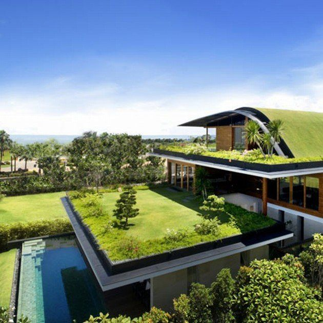Green Home Design Ideas: The 25+ Best Green Roofs Ideas On Pinterest