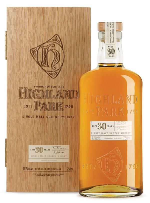 Highland Park Single Malt Scotch: Islands Single, Parks Single, Highlanders Parks 30 Boxes, 30 Years Old, Scotch Whiskey, Bottle, Malt Scotch, Single Malt, Scotch Whisky
