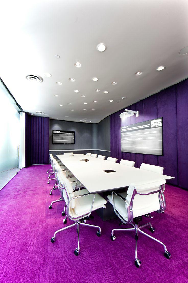 Doc's Magic Headquarters Office Meeting Room Design | www.pinterest.com/seeyond