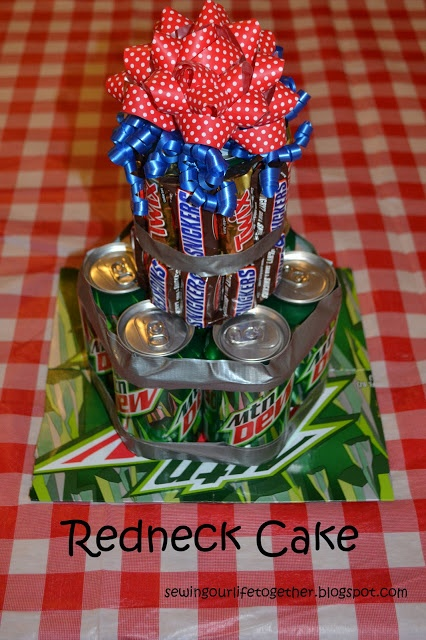 Redneck party cake!!! Will keep in mind!  #pray4oklahoma