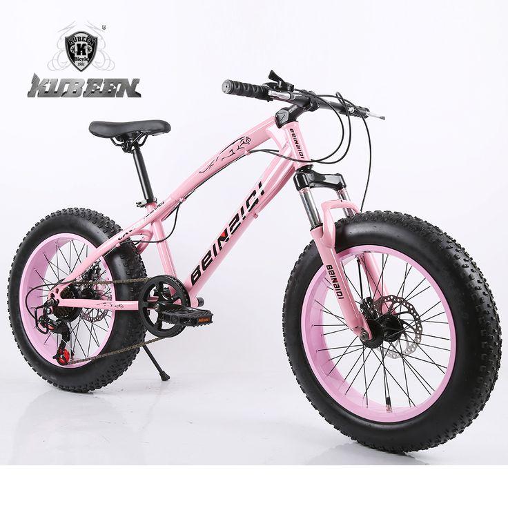 """Najwyższej jakości 7/21/24/27 Prędkości 20x4.0 """"Fat bike Mountain Bike Śnieg Rowerów szok Zawieszenie Widelec bicicleta"""