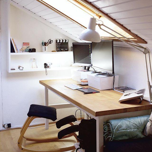 The beautiful and inspiring home office of photographer Jon Gorospe in Oslo