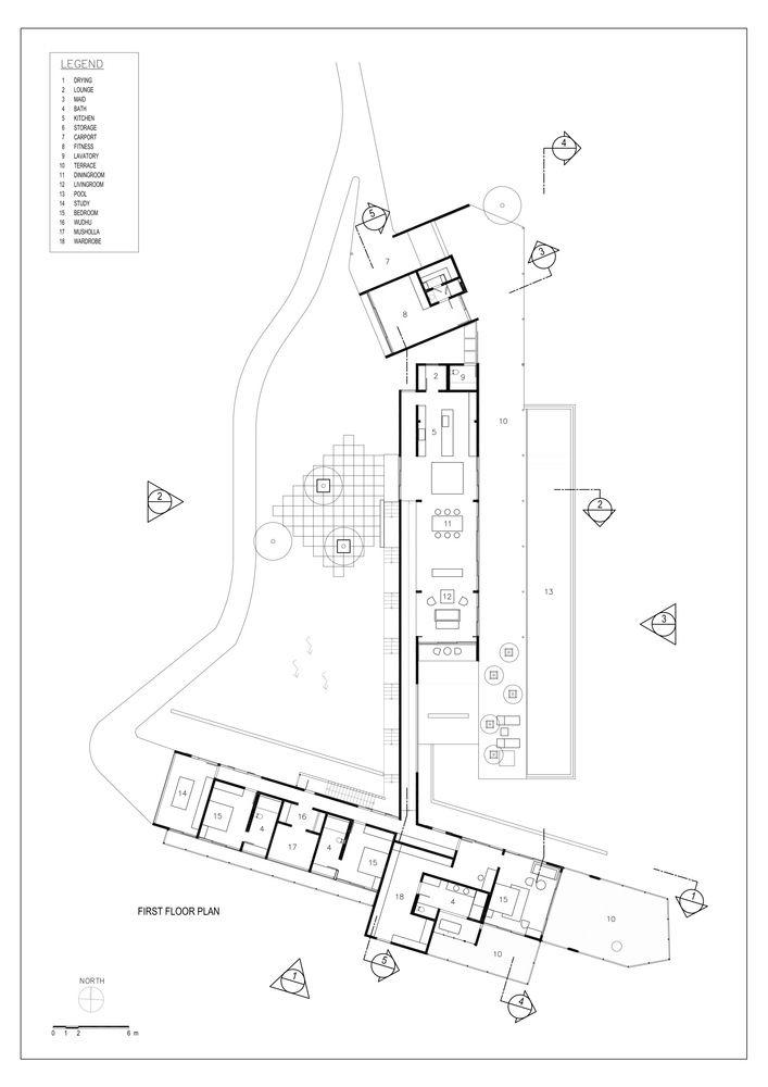 BRG House,Plan 1