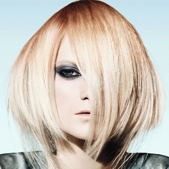 wispy and angled haircut.   Style   Pinterest   Haircuts