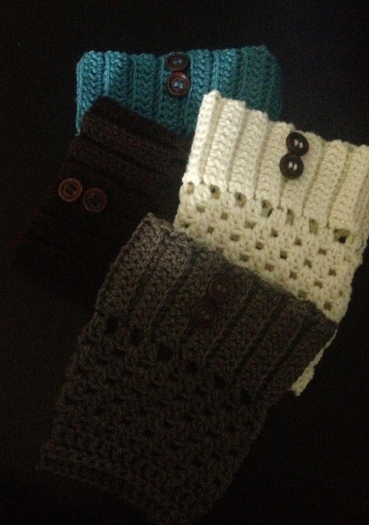 crochet boot cuff pattern free   Crochet boot cuffs   Felt