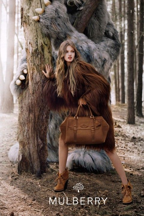 Mulberry autumn/winter 2012 campaign ... with MONSTERS!
