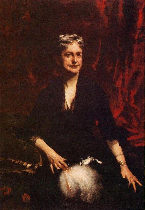 Mrs. John Joseph Townsend (Catherine Rebecca Bronson) 1881. Джон Сингер Сарджент