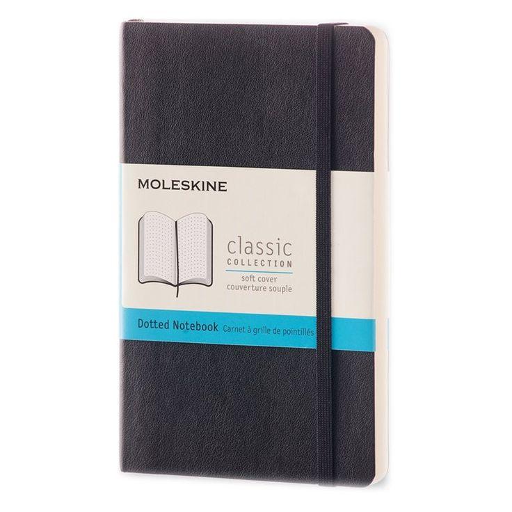Met het Moleskine Dotted Notebook kun je je gedachten en ideeën letterlijk tot…
