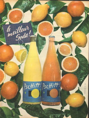 Publicité #Pschitt le meilleur soda !
