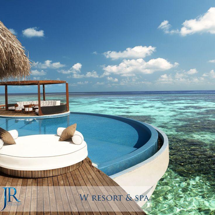 W Retreat & Spa #Maldives #Travel #Jordan_Road #Honeymoon #Sea #Beach