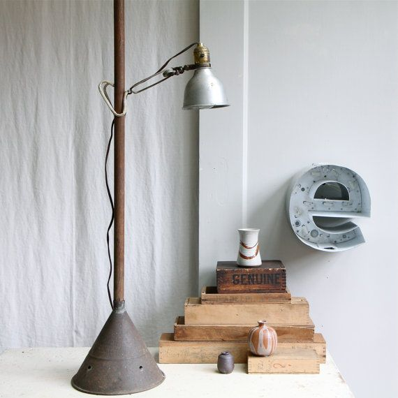 amazing vintage lamp from ethanollieVintage Lights, Clamp Lights