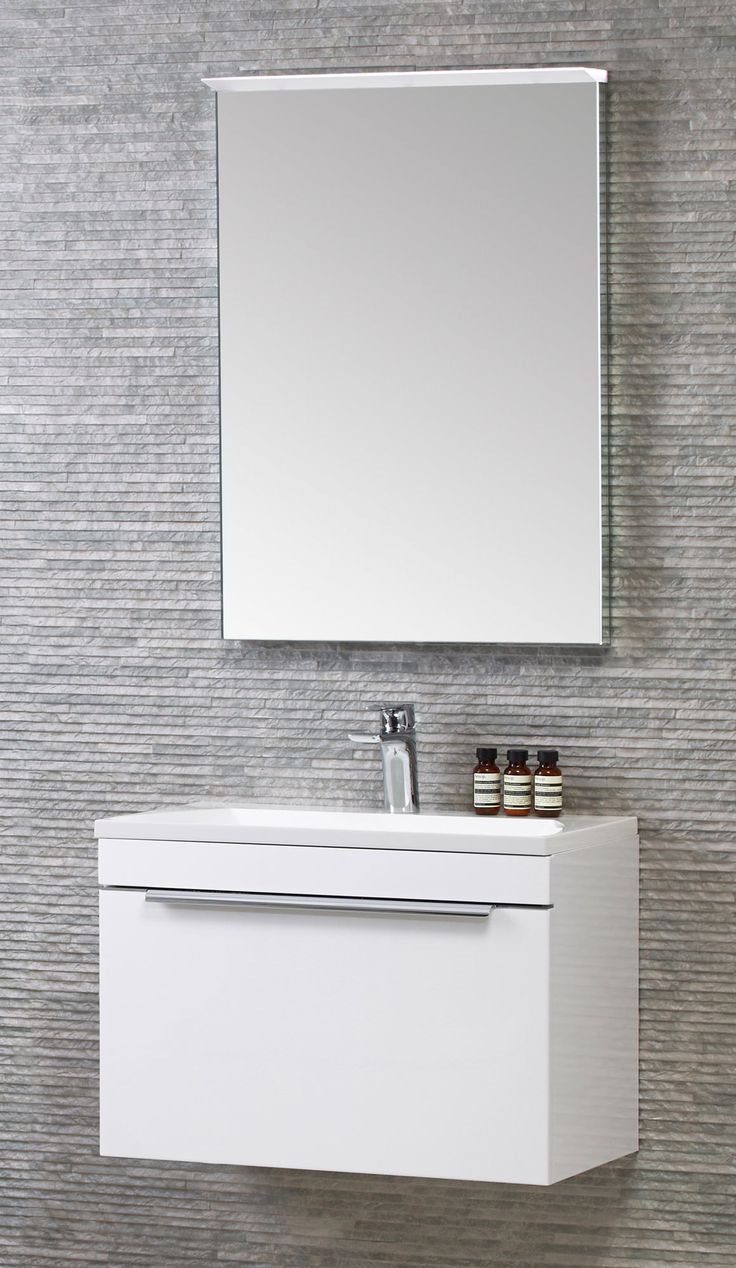 Alternate image of Roper Rhodes Cypher 600mm Wall Mounted Unit With Basin White