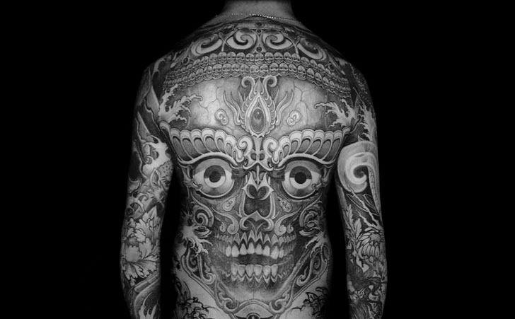 Illusion: The tattoo art of Filip Leu. Warning:     (Photo © Leu)   http://illusion.scene360.com/art/26478/body-suit-tattoos/