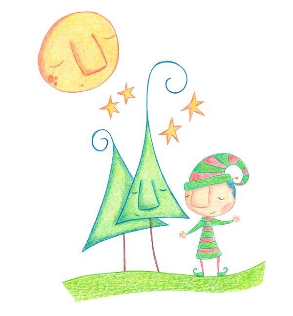 Cuento infantil el rbol de navidad cuento a la vista for Arbol navidad infantil