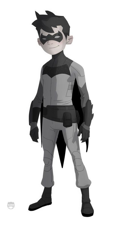 Batman: Never Realized Animated Series Designs Released!