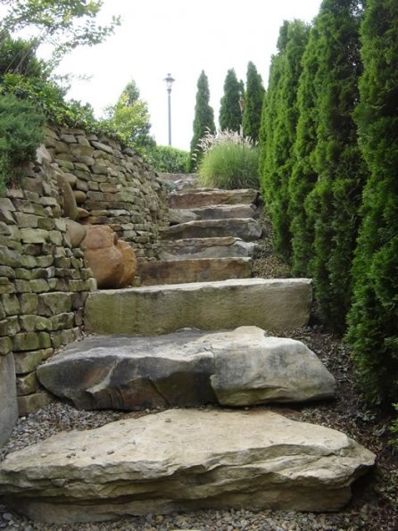 20 best images about boulder walls on pinterest gardens for Landscaping rocks melbourne