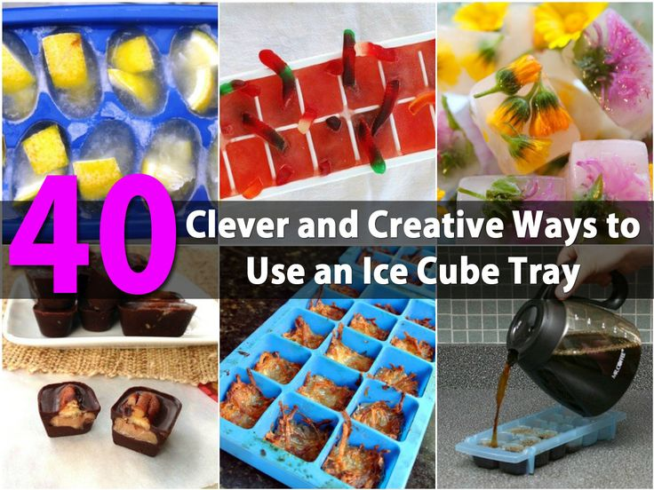 Plastic or silicone ice cube trays will cost you about a dollar for three and you may be amazed at what you can actually do with them. Many people today have automatic ice makers in their fridge so those old ice cube trays have become nearly obsolete. There are things however that...
