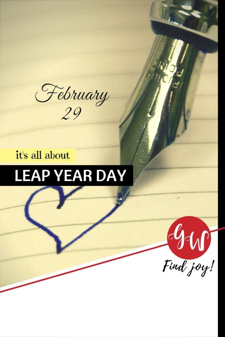 53 Best History Leap Year Day Postcards Images On Pinterest Leap