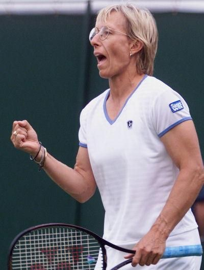 october 18th birthday buddy martina navratilova