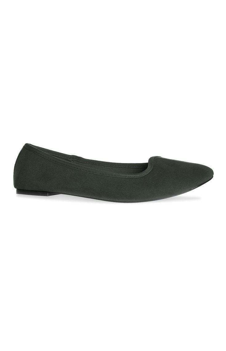 Loafer em camurça verde escuro
