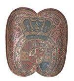 Adarga de Presidiales o Dragones de Cuera 2º mitad Siglo. XVIII. Museo del Ejército (Toledo)