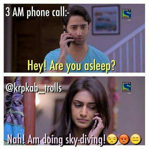 Sleepy phone conversation!!!