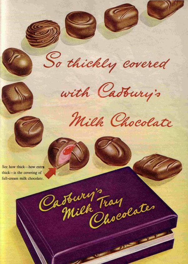Cadbury's all time favorite milk tray chocolates.