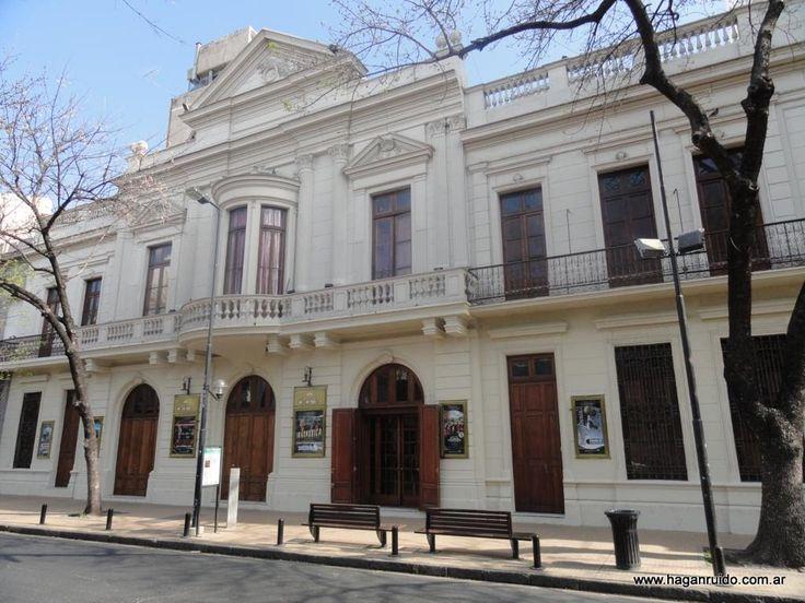 Teatro y museo municipal Coliseo Podestá.  La Plata, Buenos Aires, Argentina