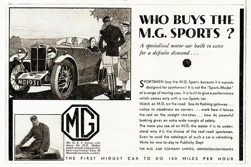 1931 MG M-Type Midget Sports