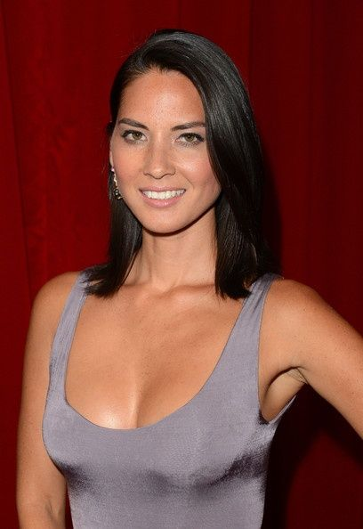 http://cnatrainingclass.co CNA Training Class  Olivia Munn Medium Straight Cut hair-and-beauty