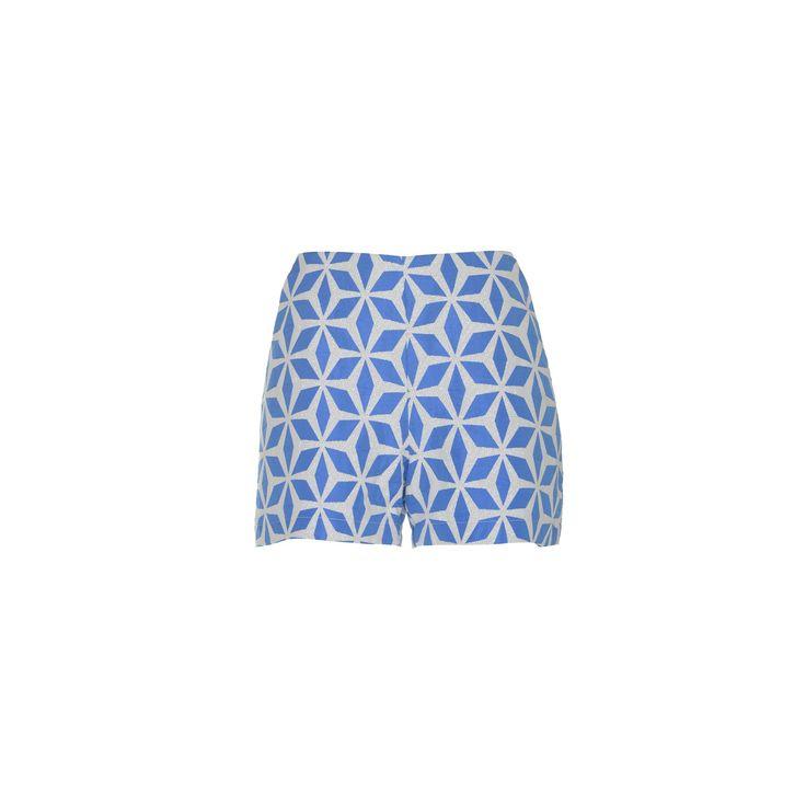 Naughty Dog SS16 geometric pattern shorts