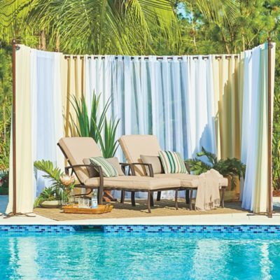 17 Best Ideas About Outdoor Curtain Rods On Pinterest Outdoor Curtains Deck Curtains And