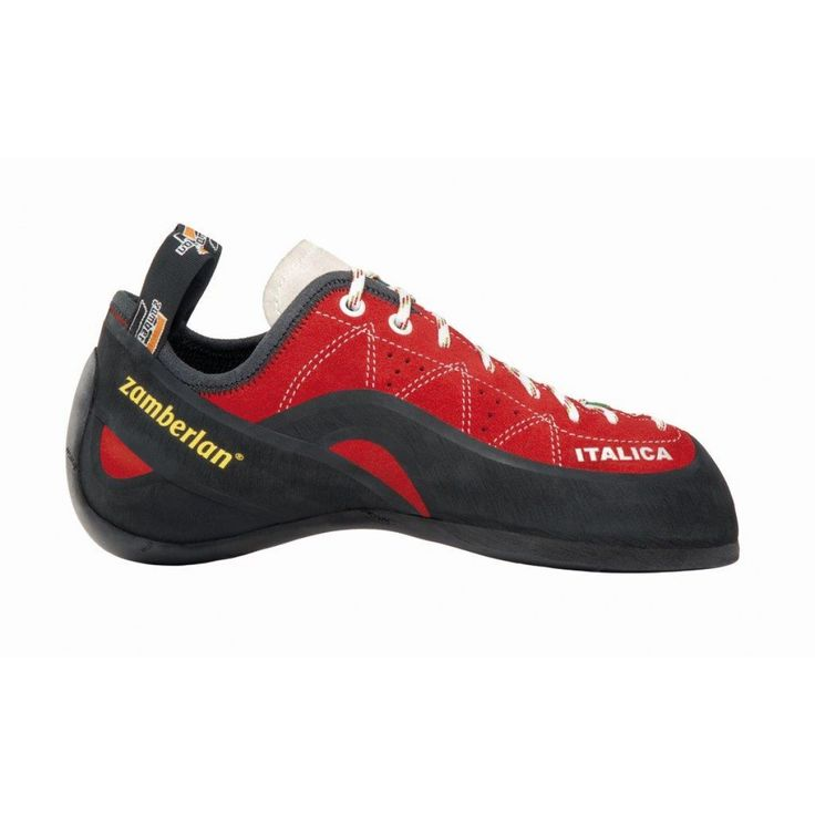 A74 ITALICA - A74 ITALICA - Aggressive shape, maximal toe sensitivity on micro holds. Ideal for competitions and high level intense training. Precise, firm. Lacing closure for more precision. Vibram® branded outsole. #zamberlan #climbing #italica #discoverthedifference