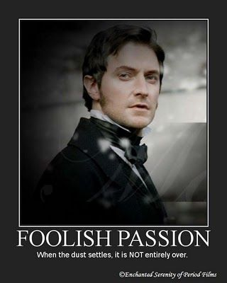 """""""Foolish Passion"""" - Richard Armitage in BBC's 'North and South' because... When the dust settles, it is NOT entirely over."""