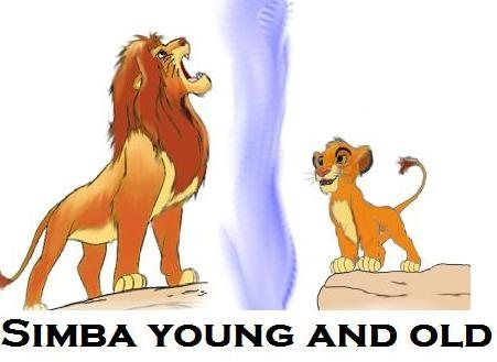 Simba is a dynamic character because when he was young he didn't know that when he turns old he will change from being cocky to being mature.