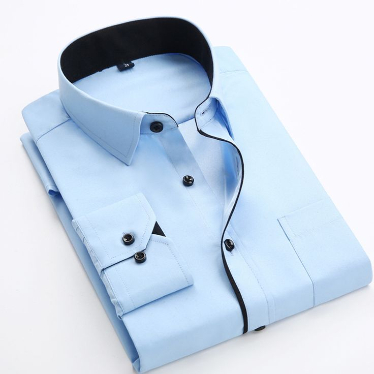 2017 NEW Special sales men's long sleeve dress shirt bussines work formal shirts for men wedding casual shirt Camisa Masculina