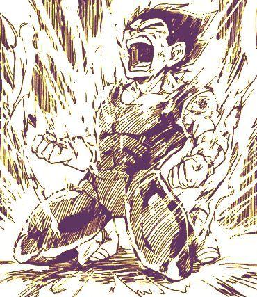 "cavalierprince: ""Power up rage. Close site: Itaikezakari "" - Visit now for 3D Dragon Ball Z compression shirts now on sale! #dragonball #dbz #dragonballsuper"